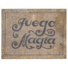 """Rare First Edition Magic Game of """"Juego de Magia Borras"""" 1933"""
