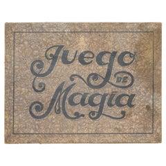 """Rare First Edition Magic Game of """"Juego de Magia Borras"""", 1933"""