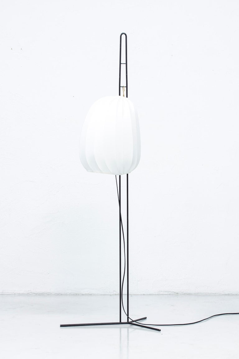 Rare Floor Lamp by Hans Bergström for Ateljé Lyktan, Sweden, 1950s For Sale 7