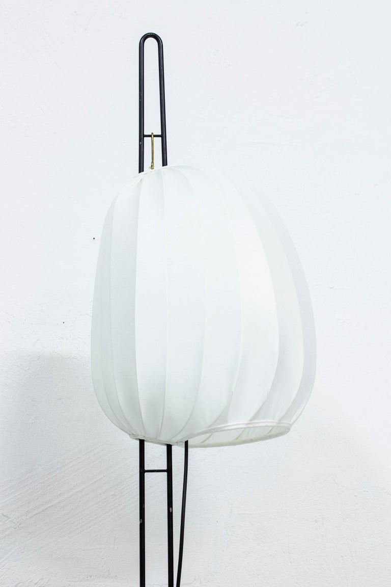 Scandinavian Modern Rare Floor Lamp by Hans Bergström for Ateljé Lyktan, Sweden, 1950s For Sale