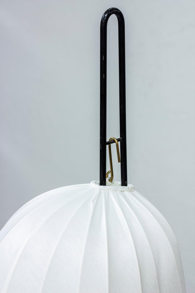 Swedish Rare Floor Lamp by Hans Bergström for Ateljé Lyktan, Sweden, 1950s For Sale