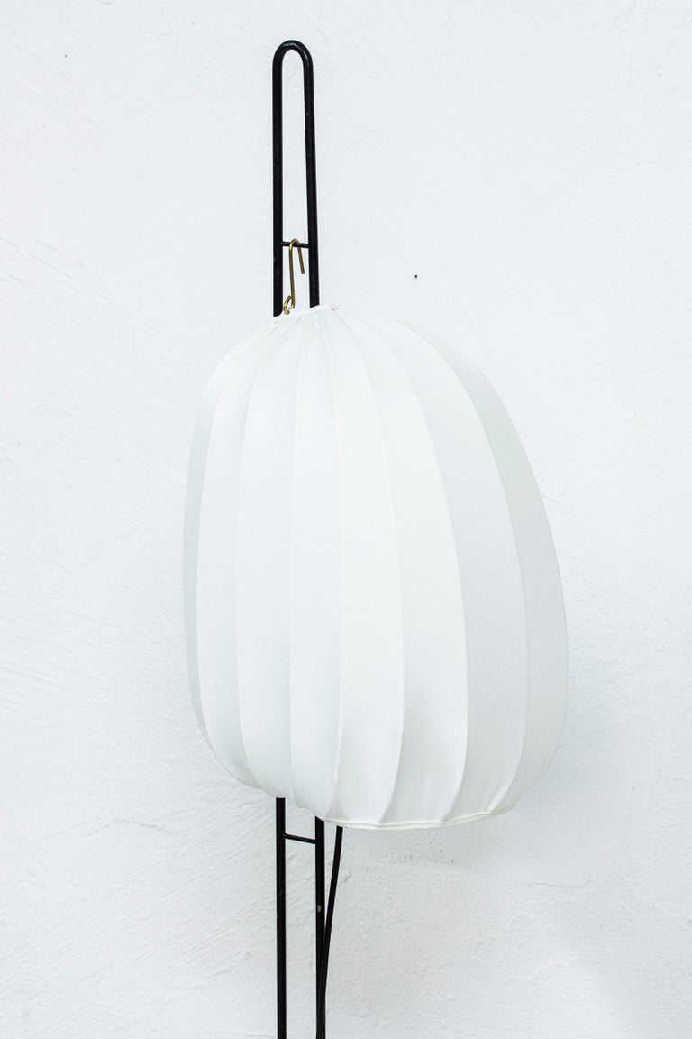 Mid-20th Century Rare Floor Lamp by Hans Bergström for Ateljé Lyktan, Sweden, 1950s For Sale