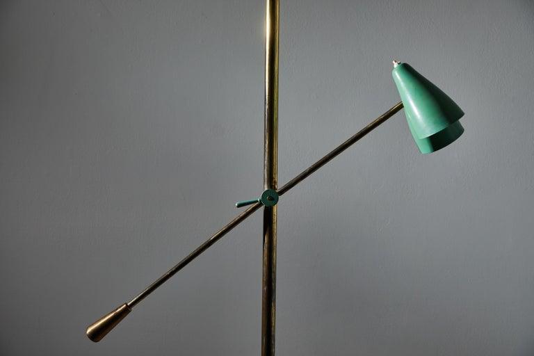 Rare Floor Lamp by Stilnovo For Sale 1