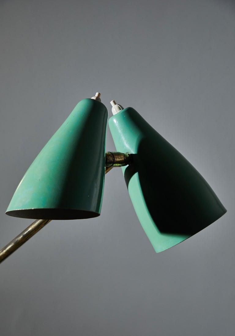 Rare Floor Lamp by Stilnovo For Sale 3