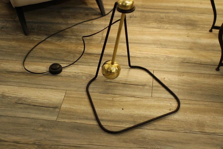 Rare Floor Lamp, Model of Pierre Guariche, 1970 In Excellent Condition For Sale In Encino, CA