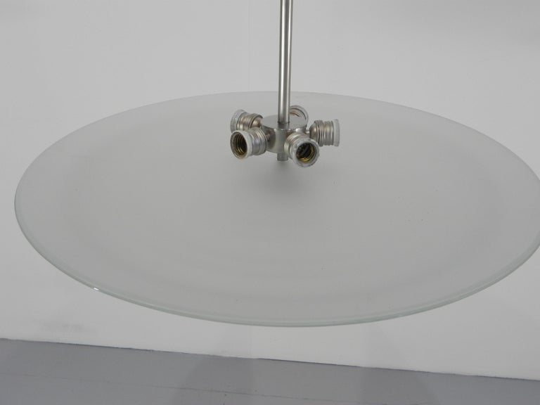 Rare Fontana Arte Chandelier by Pietro Chiesa Published For Sale 7