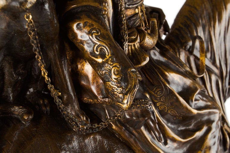 Rare French Bronze Sculpture