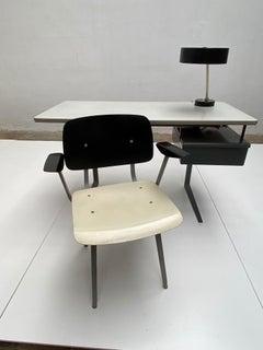 Rare Friso Kramer Revolt arm chair Delft University 1959 Ahrend De Circel