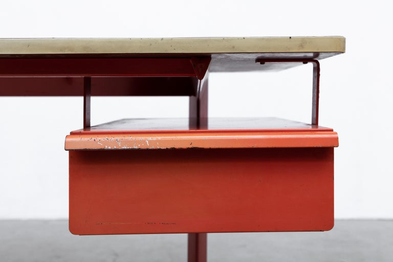 Rare Friso Kramer Teachers Desk For Sale 3