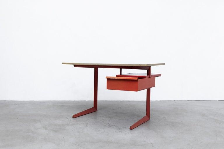 Mid-Century Modern Rare Friso Kramer Teachers Desk For Sale