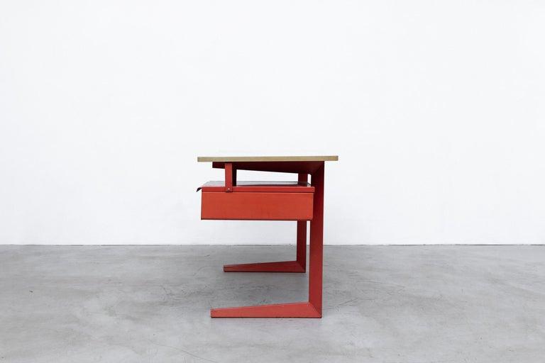 Dutch Rare Friso Kramer Teachers Desk For Sale