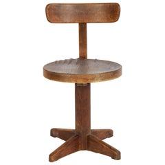 Rare Fritz Hansen Desk Chair DAR, Denmark, 1930s