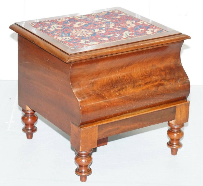 Super Rare Fully Complete Victorian American Bed Step Stool With Pdpeps Interior Chair Design Pdpepsorg