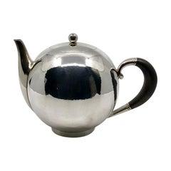 Rare Georg Jensen Tea Pot 533 by Johan Rohde