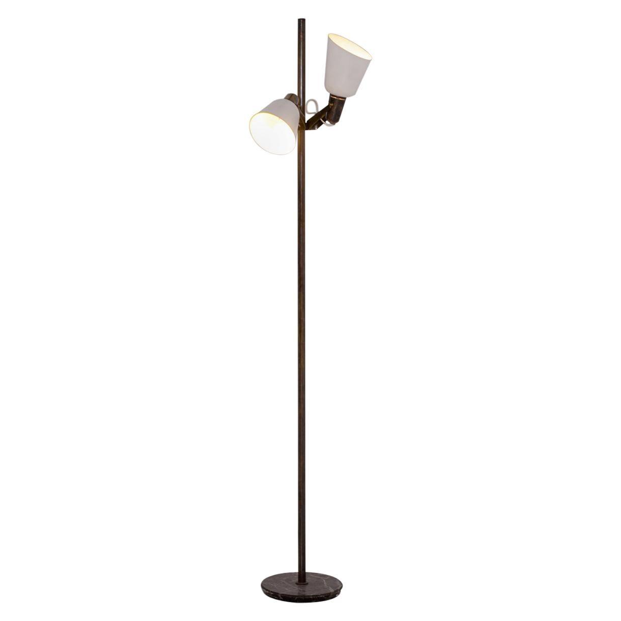 Rare Gino Sarfatti for Arteluce Italian Floor Lamps