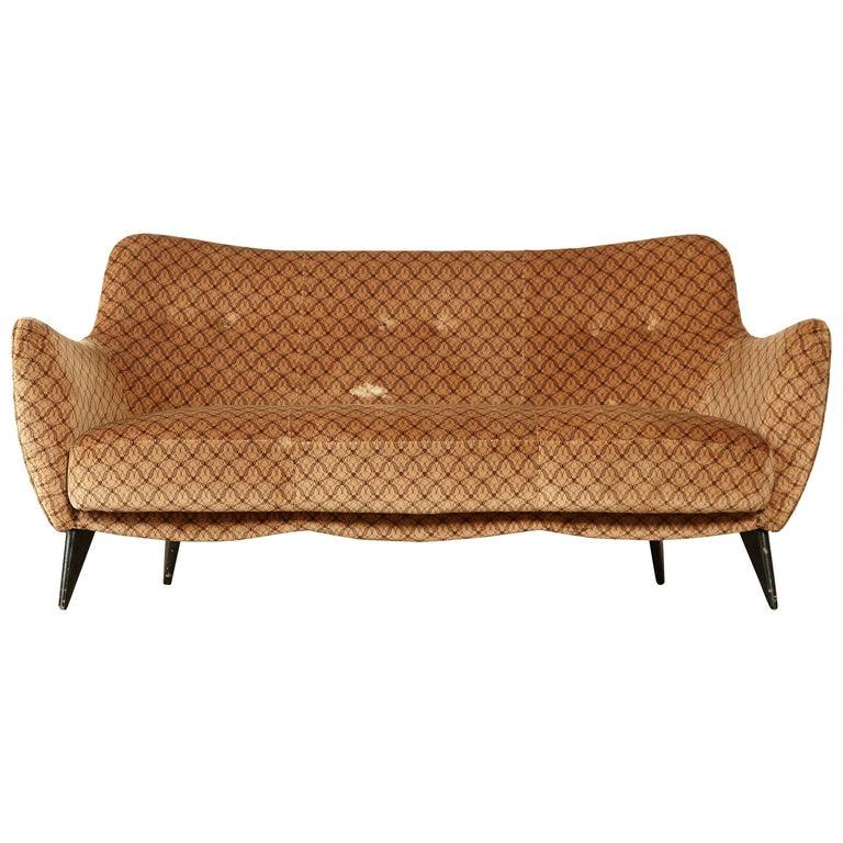 Strange Rare Giulia Veronesi Perla Sofa Isa Bergamo Italy 1950S Beatyapartments Chair Design Images Beatyapartmentscom