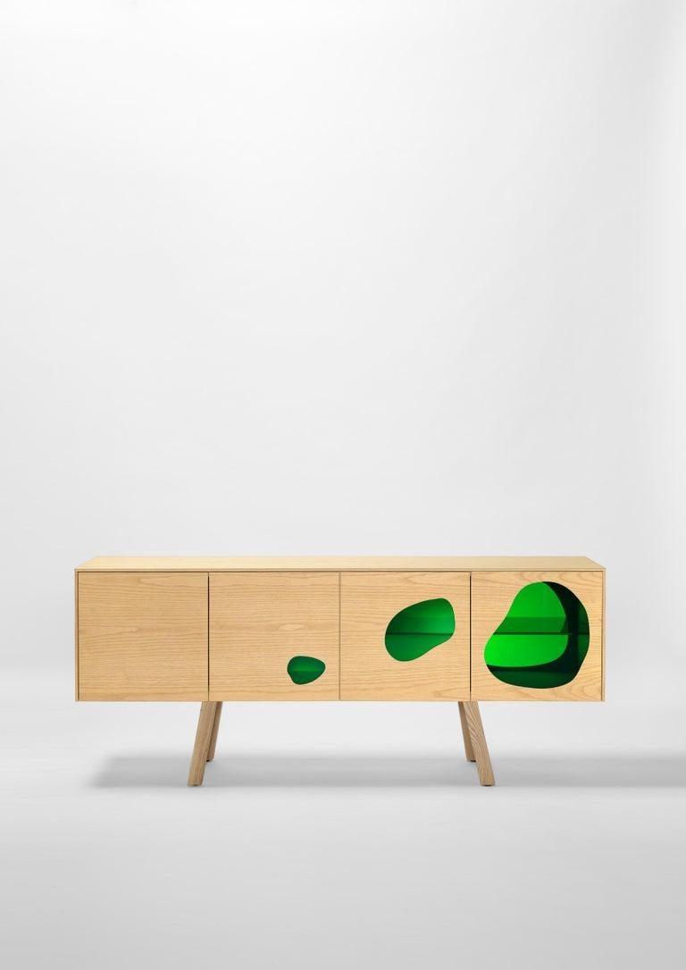 Prototype sideboard designed by Fernando and Humberto Campana in 2016