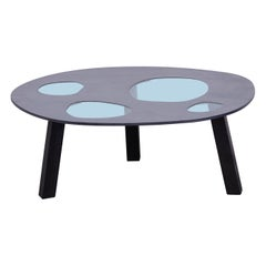 Rare Glass and Wood Prototype Aquario Table by Campana Brothers