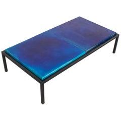 Rare Glazed Ceramic Coffee Table by Majolika, 1960s