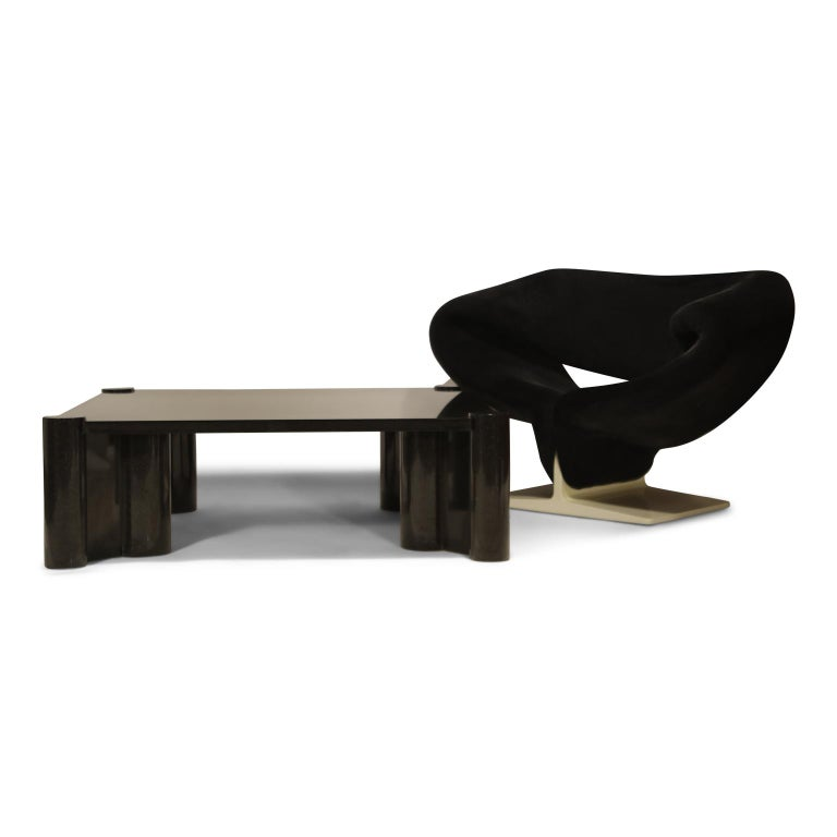 American Rare Granite 'Jumbo' Cocktail Table by Gae Aulenti for Knoll International, 1980 For Sale