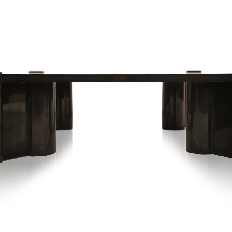 Rare Granite 'Jumbo' Cocktail Table by Gae Aulenti for Knoll International, 1980 For Sale 1