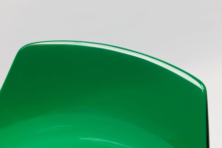 Rare Green Edition 'Champagne' Chair by Estelle & Erwin Laverne For Sale 2