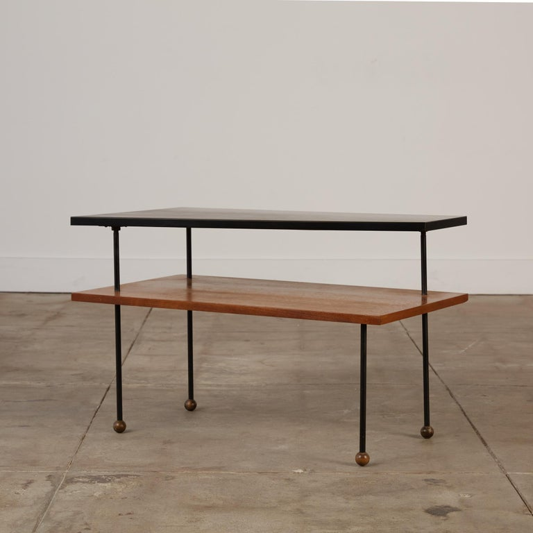 Mid-Century Modern Rare Greta Grossman Side Table for Glenn of California For Sale