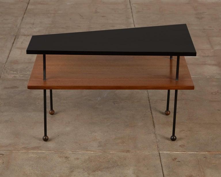American Rare Greta Grossman Side Table for Glenn of California For Sale
