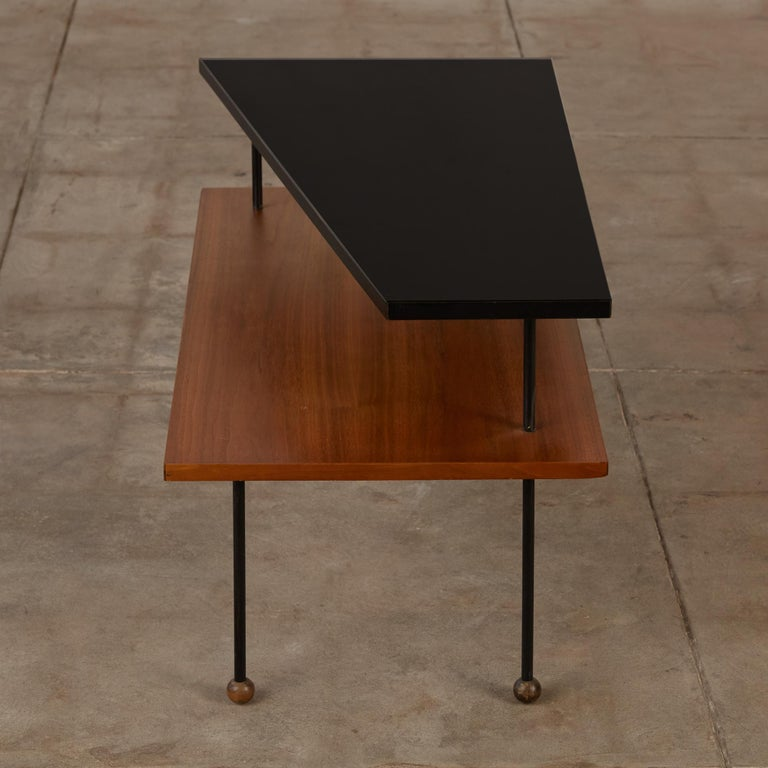 Mid-20th Century Rare Greta Grossman Side Table for Glenn of California For Sale