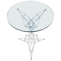 Rare Grey Pylon Table Designed in 1992 by Tom Dixon for Cappellini