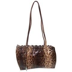 Rare GUCCI by Tom Ford 1999 Exotic Karung Skin Clutch Bag Purse