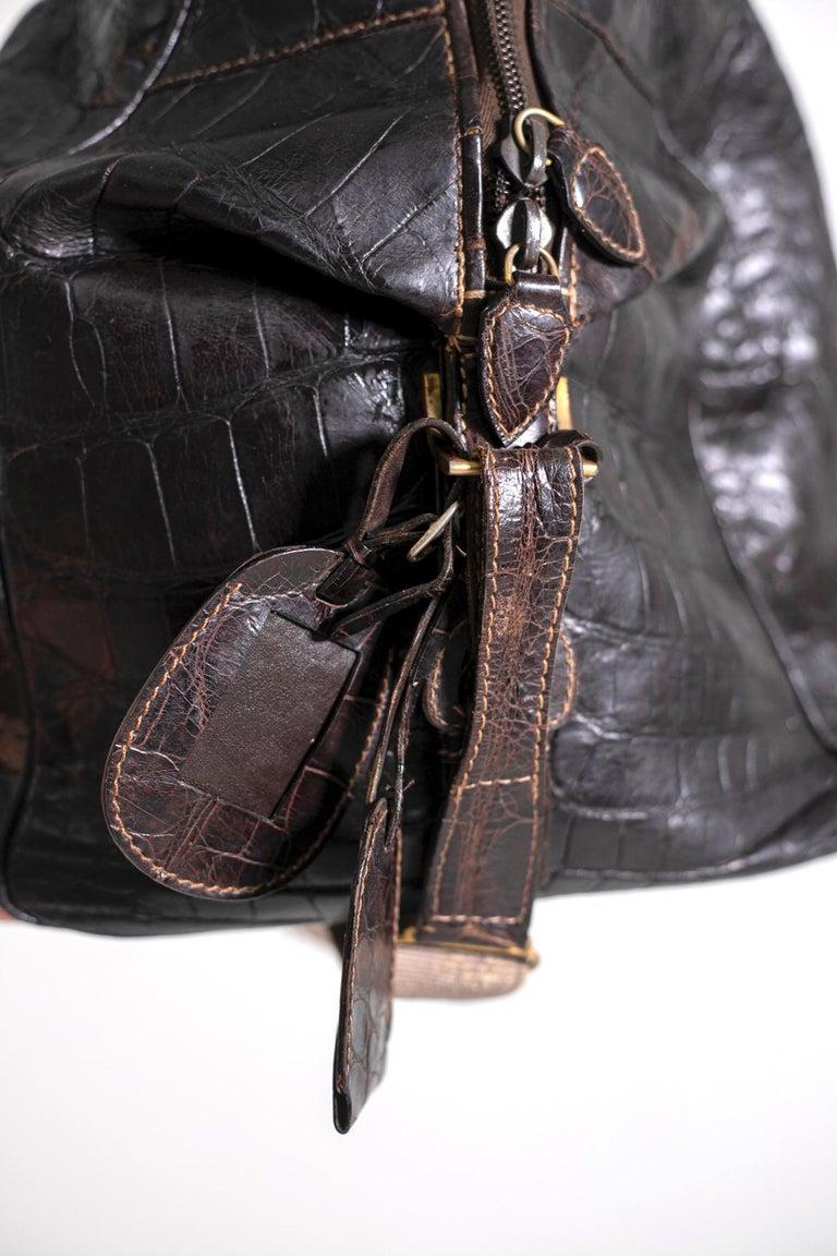Rare Gucci Italian Travel Bag 1960's In Good Condition In milano, IT