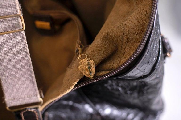 Rare Gucci Italian Travel Bag 1960's 1