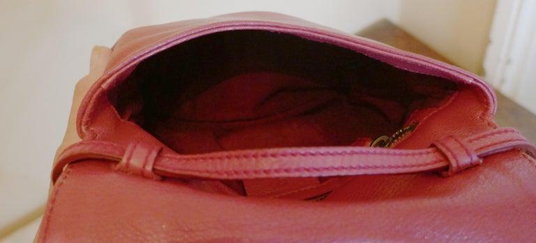 Rare Gucci Soho Pink Leather Messenger Shoulder Bag Purse   For Sale 4