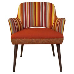 Rare Gunlocke Mid Century Side Chair in the Style of Eero Saarinen