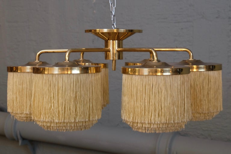 Mid-20th Century Rare Hans-Agne Jakobsson Ceiling Lamp Model T-606, 1960s For Sale