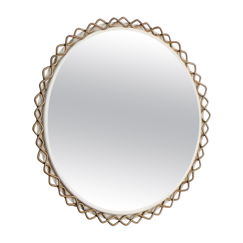Rare Hans-Agne Jakobsson Mirror, Sweden, 1950s