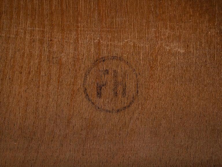 Rare Hans J. Wegner Bench FH 1935/4 in Walnut For Sale 5