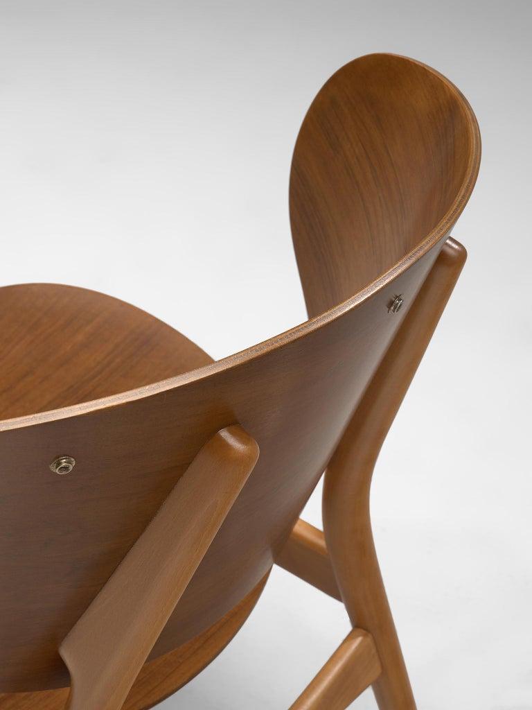 Rare Hans J. Wegner Lounge Set with Rare Four-Seat Bench For Sale 3