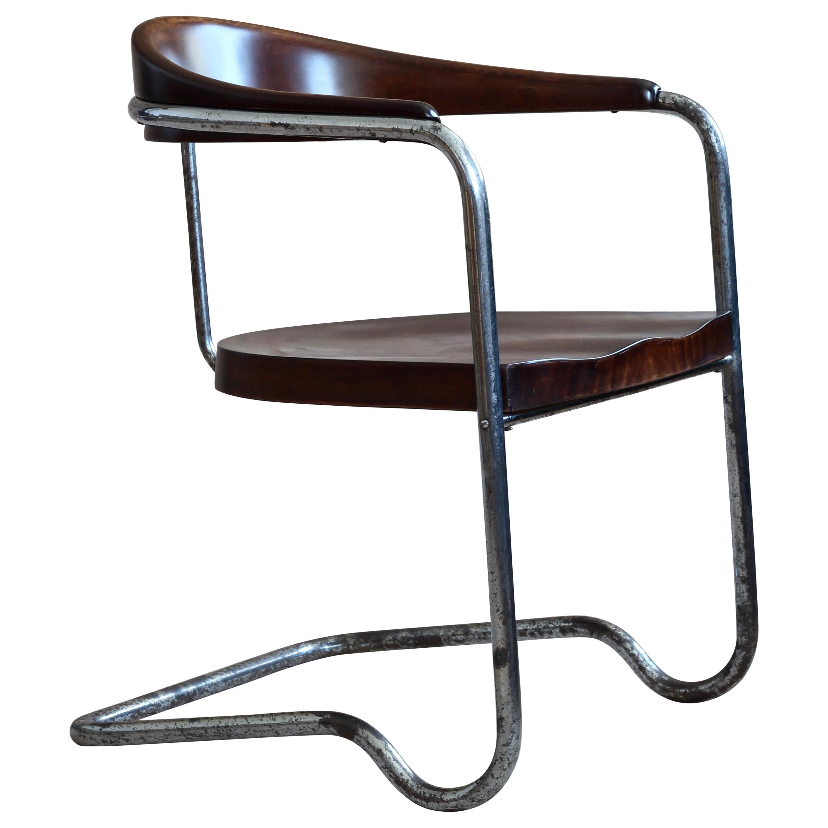 Cantilever Chair B 263 By Thonet In The 1930s Bauhaus At 1stdibs