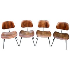 Rare Herman Miller Eames DCM Dining Chairs in Rosewood