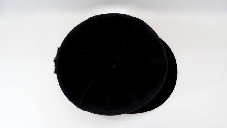 Rare Hermés 1950s Velvet Riding Helmet & Spurs  For Sale 10