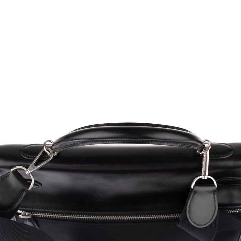 Rare Hermès Kelly Lakis 35 handbag with strap, PHW in very good condition! For Sale 5