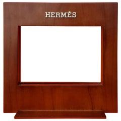 Rare Hermès Wooden Frame