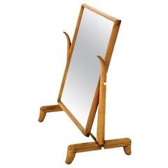 Rare Horned Mirror by Robsjohn-Gibbings