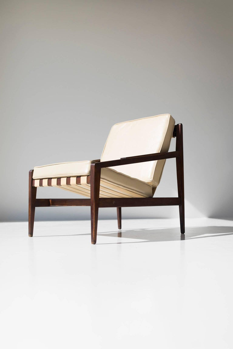 Rare Ib Kofod Larsen Lounge Chair for Selig Imports For Sale 3