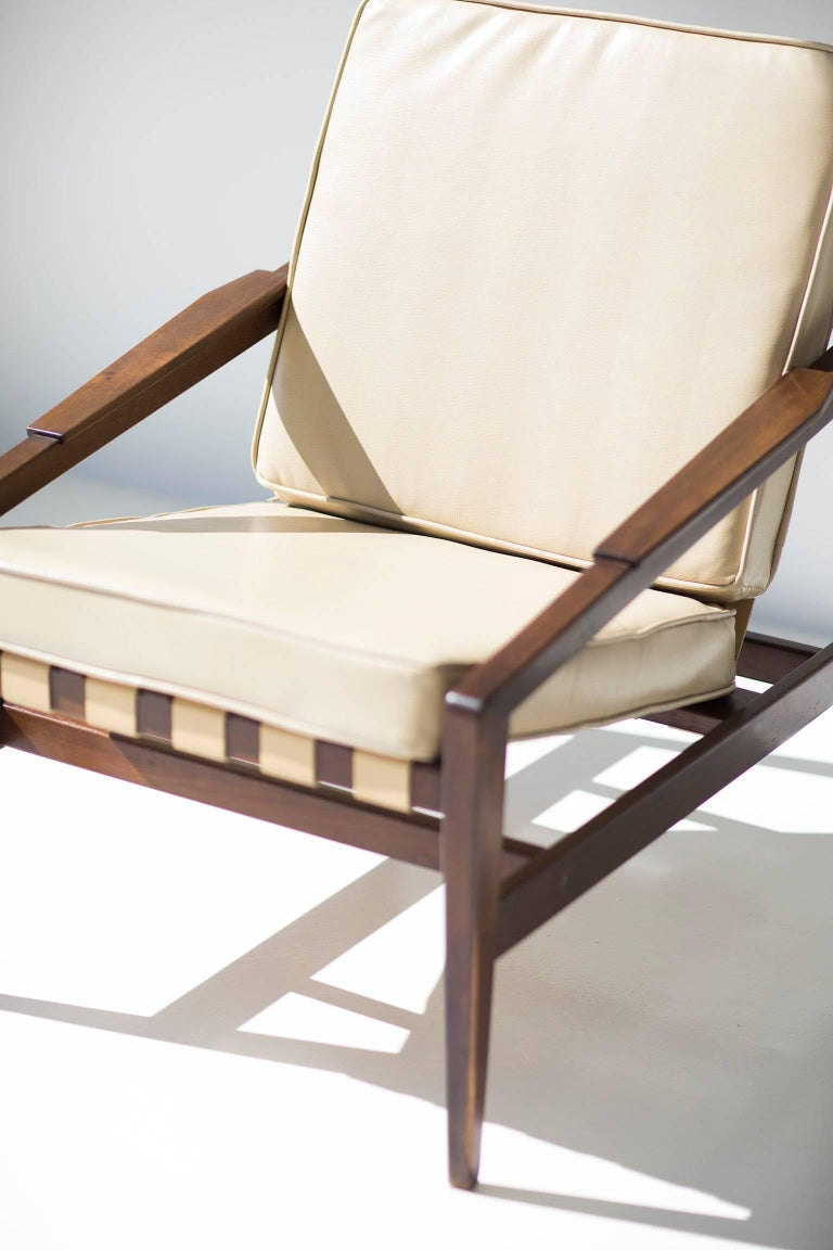 Mid-20th Century Rare Ib Kofod Larsen Lounge Chair for Selig Imports For Sale