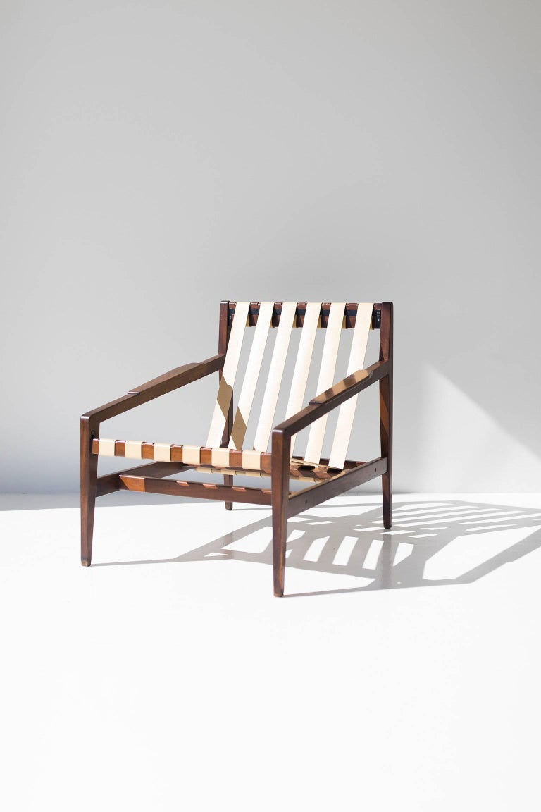 Rare Ib Kofod Larsen Lounge Chair for Selig Imports For Sale 2
