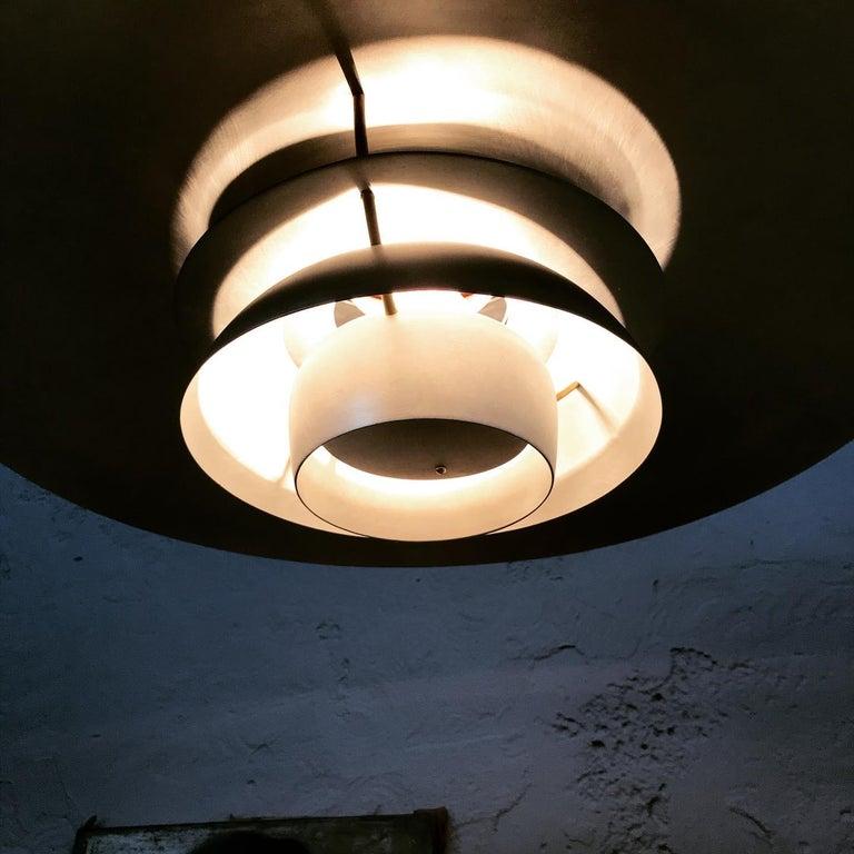Mid-Century Modern Rare Iconic Vintage 1958 Poul Henningsen PH 5 Chandelier Pendant Lamp For Sale