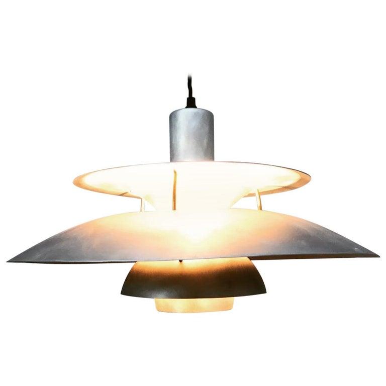 Rare Iconic Vintage 1958 Poul Henningsen PH 5 Chandelier Pendant Lamp For Sale